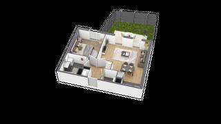 appartement A001 de type T2