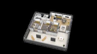 appartement A102 de type T4