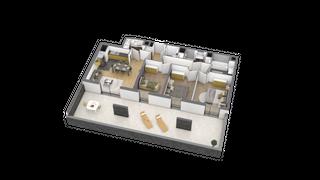 appartement A103 de type T4