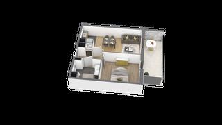 appartement A109 de type T2