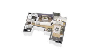 appartement A110 de type T2
