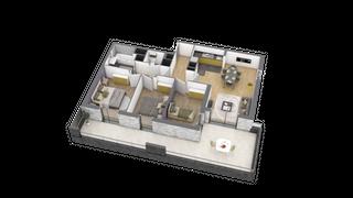 appartement A202 de type T4