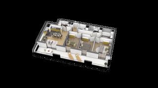 appartement A203 de type T4