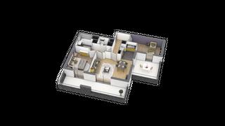 appartement A302 de type T3